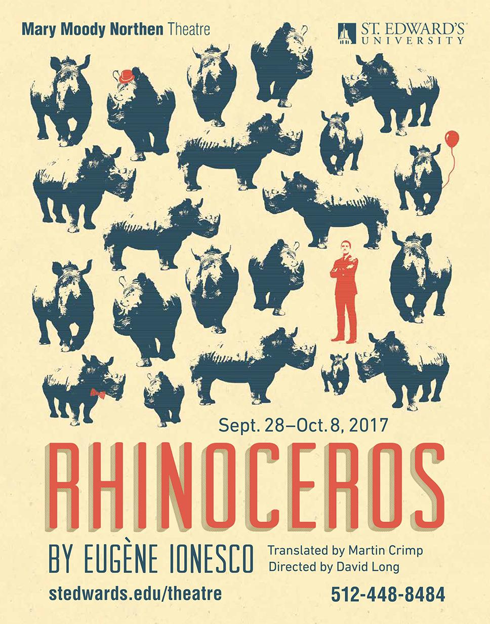 Rhinoceros at Mary Moody Northen Theatre