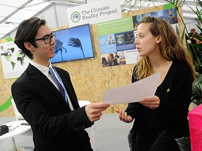 Chris Jackson at Paris Climate Summit