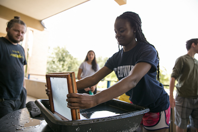 student papermaking