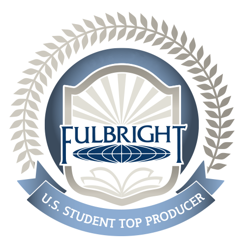 Fulbright Students Top Producer logo