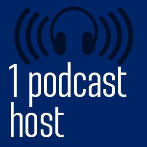 1 Podcast host