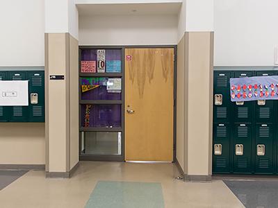 Science classroom image