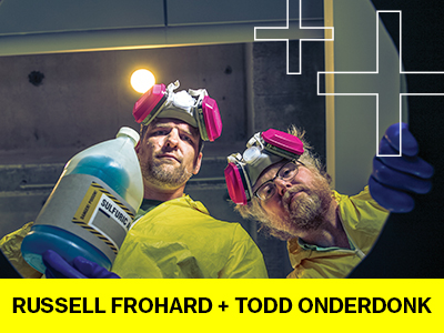 Russell Frohardt and Todd Onderdonk