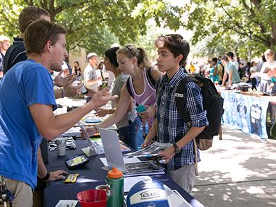 Campus Life Involvement Fair