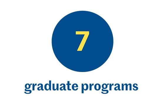 7 graduate programs