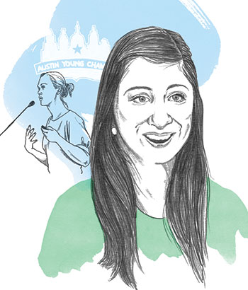 Alyssia Palacios portrait illustration