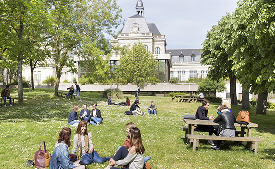 Students in Angers, France
