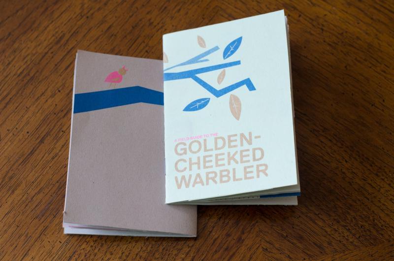 Golden-cheeked Warbler booklet