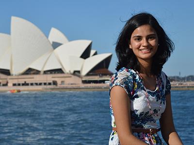Jana Soares at the Sydney Opera House