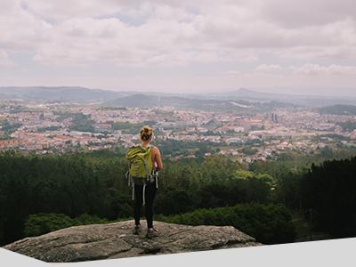 Hannah Thornby walks El Camino in Spain.