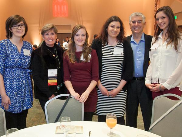 Barthel Scholars at Scholarship Dinner