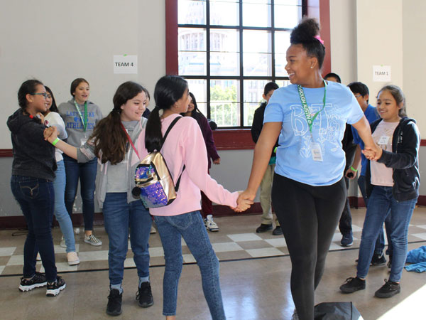 Breakthrough Saturdays expose students to events like the Texas Teen Book Festival.