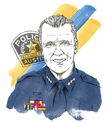 Brian Manley portrait illustration