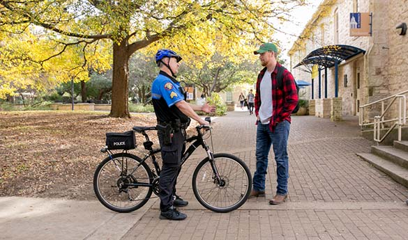 Campus safety police