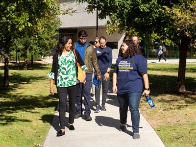 Campus Tour at St. Edward's University