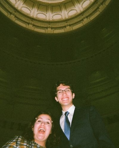 Giovanna DiNapoli and Cristobal Garcia-Quiroz