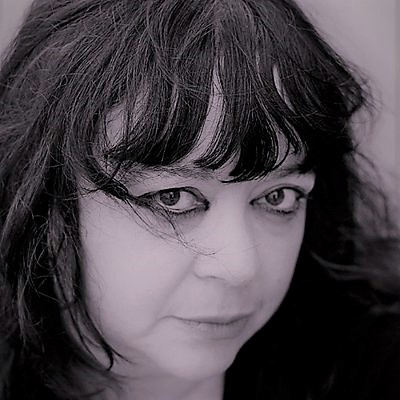 Black and White photo of poet Diane Seuss