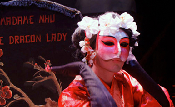 Actor performing in Dragon Lady
