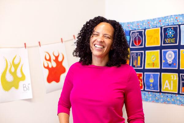 Raychelle Burks, Chemistry Professor