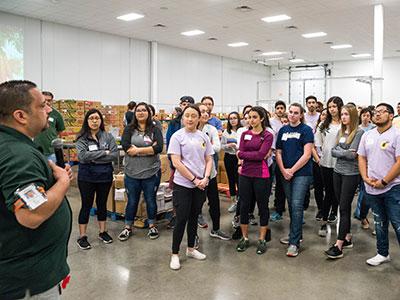 Students participate in Freshman Seminar experience