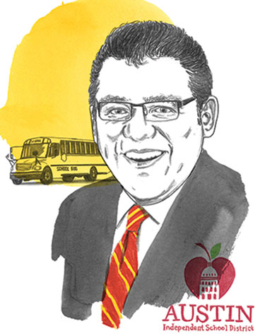 Geronimo Rodriguez portrait illustration