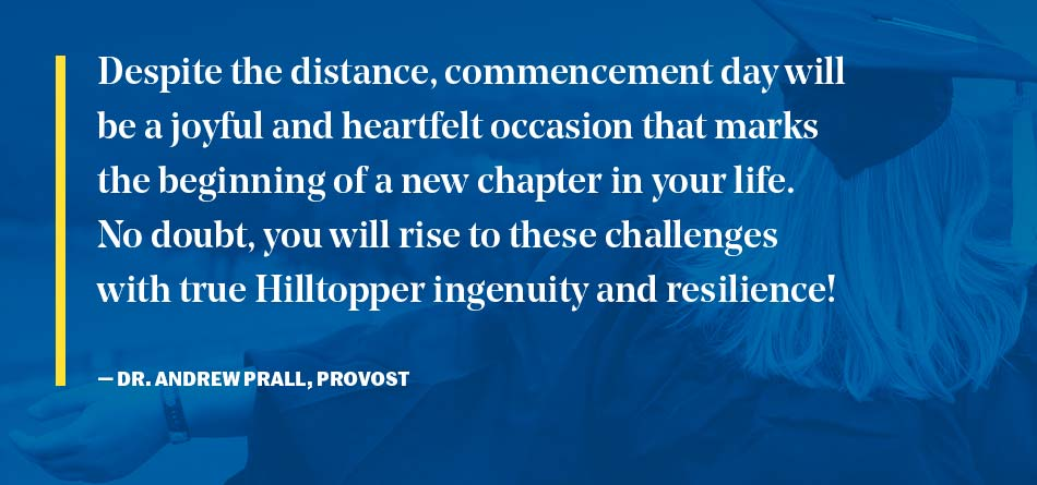 Quote from provost Dr. Andrew Prall
