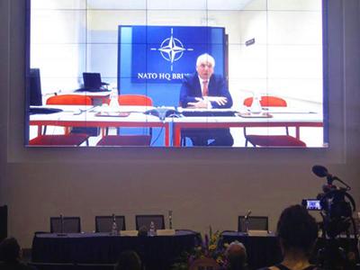 Jamie Shea, NATO, vidoeconference