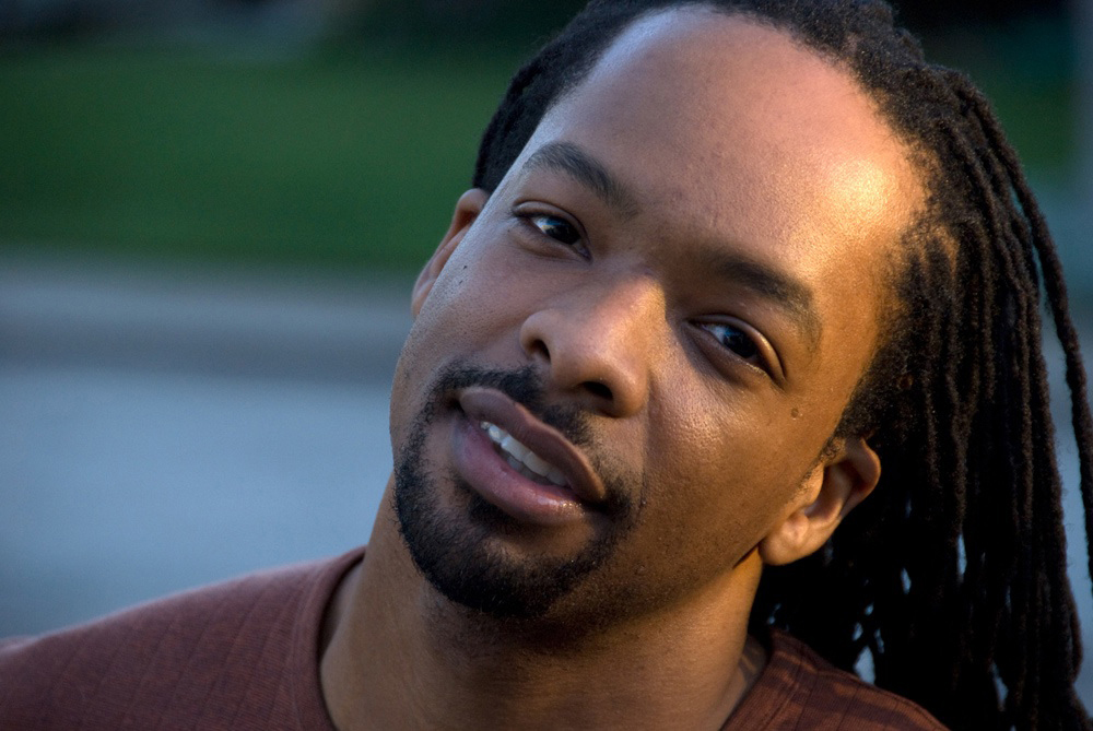 Color photo of poet Jericho Brown