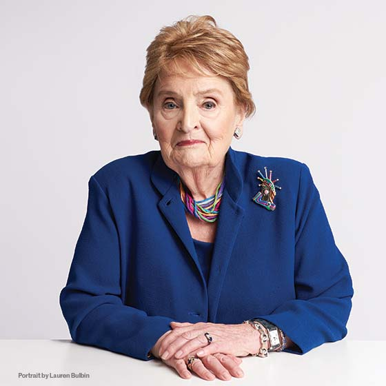 The Honorable Madeline Albright