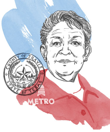 Margaret Gomez portrait illustration