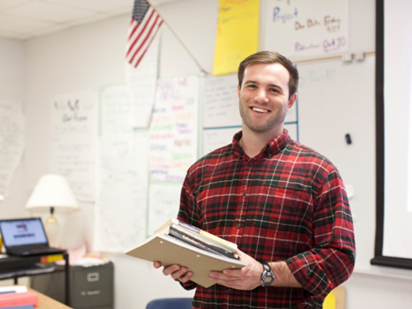 St. Edward's Alum teaching at Del Valle Independent School District