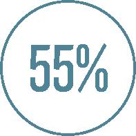 55% Graphic