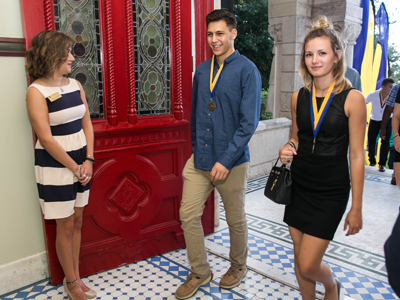 Medallion Ceremony at Anchors