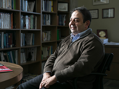 Ali Dadpy, Professor of Economics