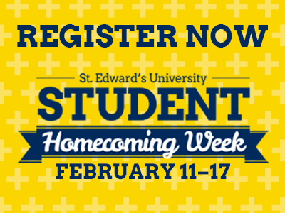 Register now for St. Edward's 2017 Homecoming Week