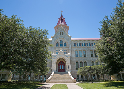 Main Building, St. Edward's University