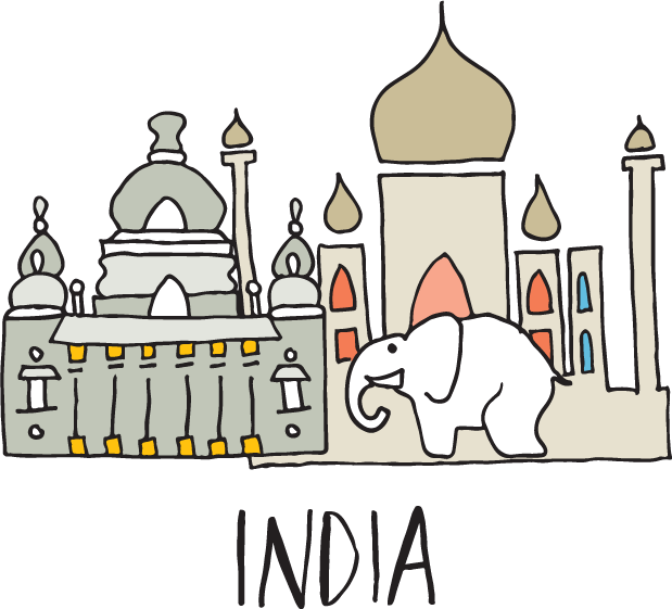 India illustration
