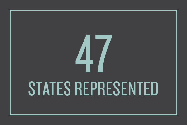 47 States Represented