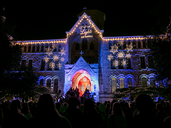 Campus Traditions - Festival of Lights