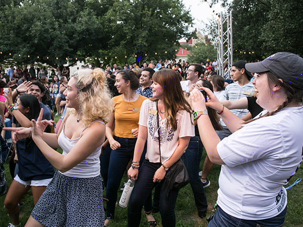 Campus Traditions - Hillfest during Welcome Week