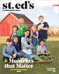 St. Edwards University's B. Hooved magazine