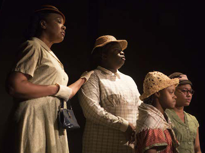 Theater Arts Student Acting in To Kill a Mockingbird at Mary Moody  Northen Theatre, St. Edward's