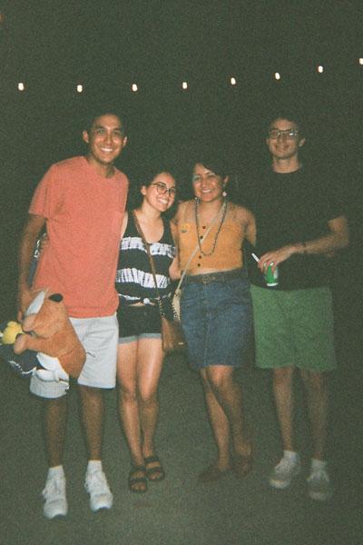 Nina's friends at Hillfest