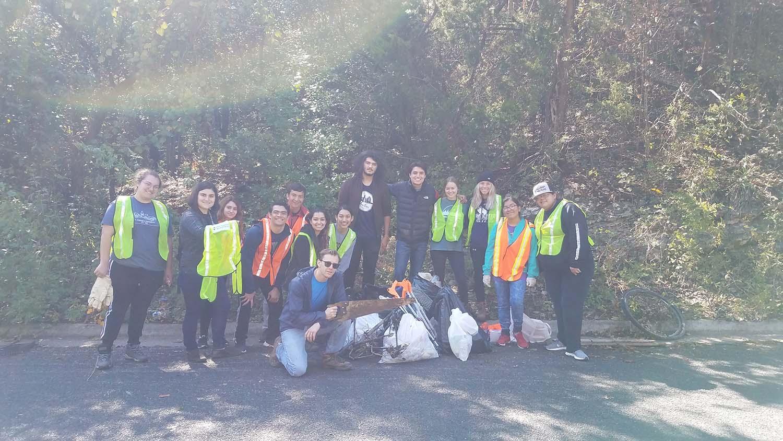 Blunn Creek Cleanup