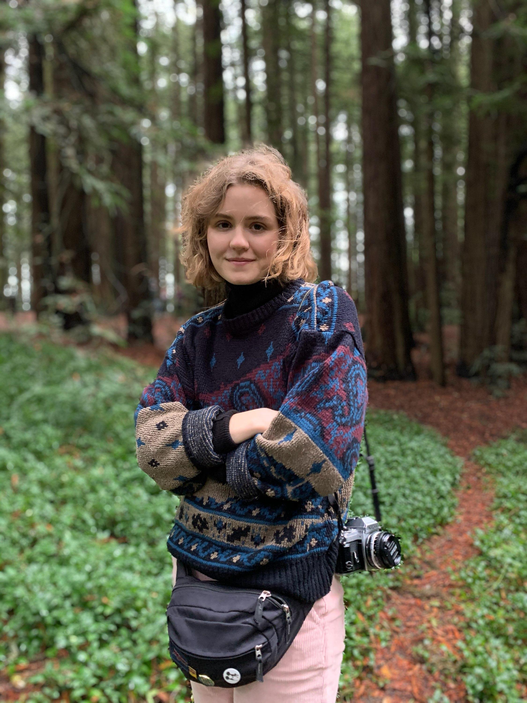 New sustainability member, Hayley Wood
