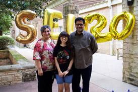 Parents at St. Edward's