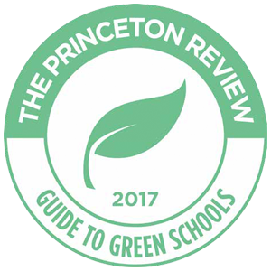 The Princeton Review Guide to Green Schools Logo