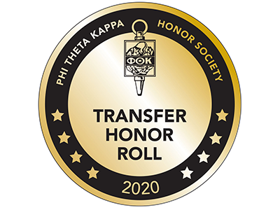 Transfer Honor Roll Badge