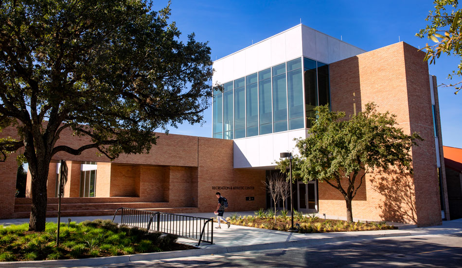 The New Recreation and Athletics Center
