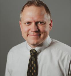 Scott Burnotes, AVP for University Operations, St. Edward's University